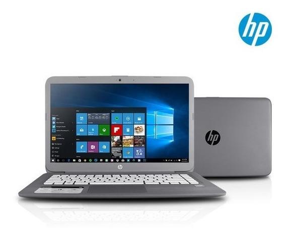 Notebook Hp Stream 4gb Ram, 32gb W10+cartão Sd 32gb