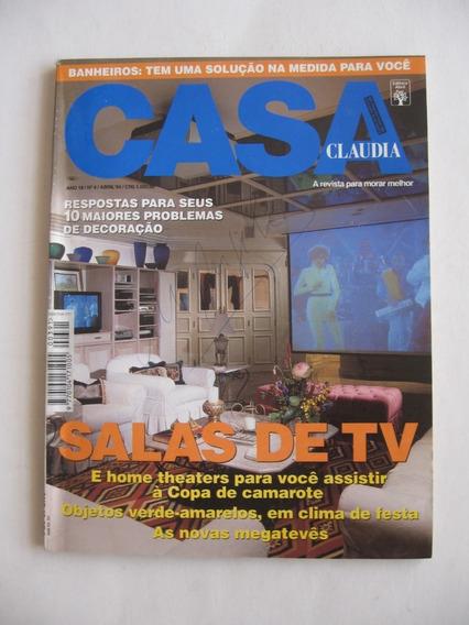 Revista Casa Claudia - Nº 391 - Salas De Tv
