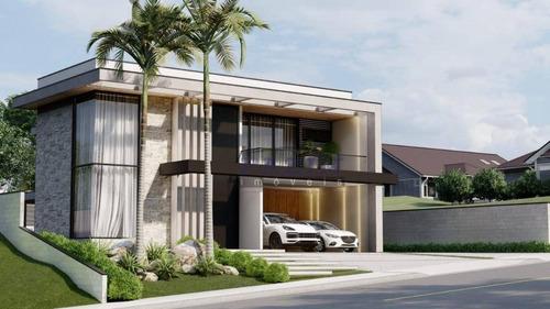 Casa Com 3 Dormitórios À Venda, 351 M² - Condomínio Campo De Toscana - Vinhedo/sp - Ca4508