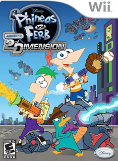 Wii / Wii U - Phineas And Ferb-2nd Dimension- Juego Físico