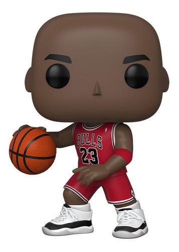 Acorazado Escándalo Valiente  Funko Pop 10 Nba Bulls - Michael Jordan (red Jersey)   Mercado Libre