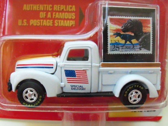 1940 Ford Pickup Postal Service U.s.a Johnny Lightning Sa17