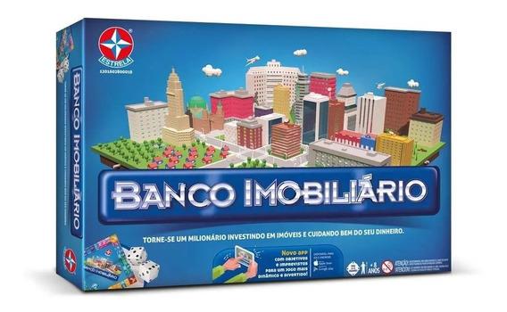 Jogo De Tabuleiro Banco Imobiliario Classico Estrela