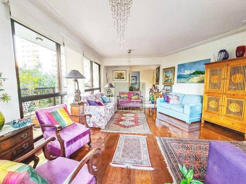Imagem 1 de 30 de Apartamento À Venda, 200 M² Por R$ 2.200.000,00 - Campo Belo - São Paulo/sp - Ap5593