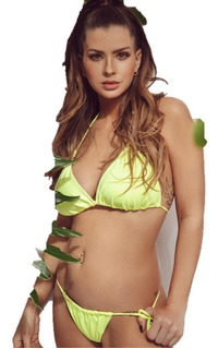Bikini Triangulo Y Colaless 2722-21 Sweet Lady By China