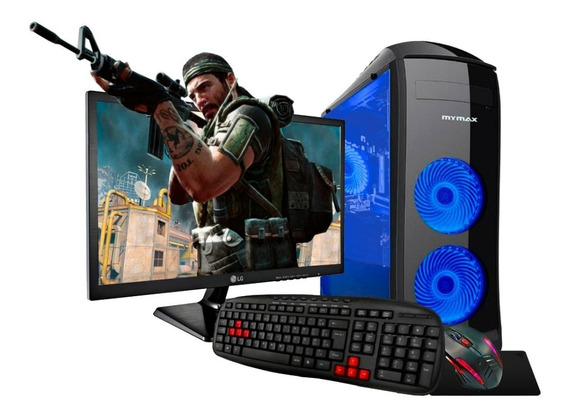 Pc Gamer Core I5 16gb Hd1tb Ssd Gt1030 Lg19 Kit Gamer Novo