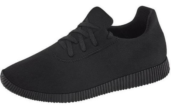 Tenis Mujer Marca Shosh Mod 4a S52 Negro