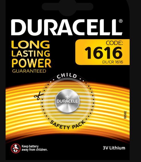 Bateria Duracell Cr1616 3v Alcalina Importada-pronta Entrega
