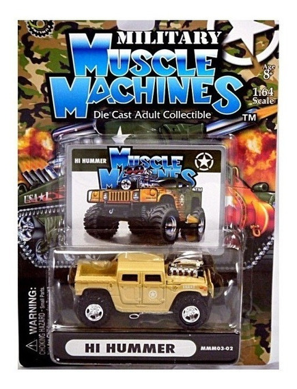 Hummer H1 Militar Supercharger Muscle Machines Solo Envios