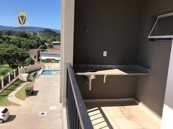 Apartamento À Venda No Vivarte Alamedas No Medeiros Em Jundiaí - 59 M², 2 Dorm., 1 Vaga Coberta - Vista Para A Serra Do Japi! - Ap1270