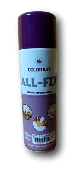 Adesivo Cola Reposicionável Spray All-fix 300ml Colorart