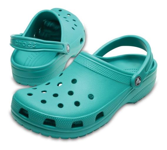 Sandália Crocs Classic Tropical Teal