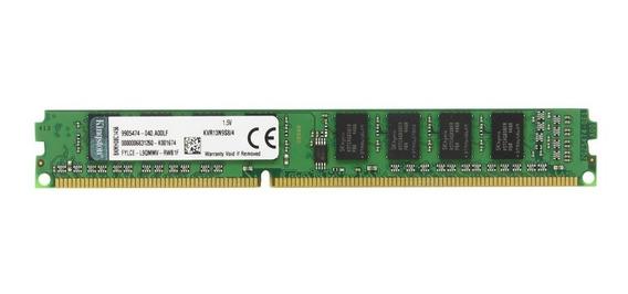 Memória Kingston Ddr3 4 Gb 1333 Mhz Pc3 10600 P/ Computador