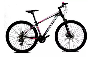 Bicicleta Mountain Spy Bullet Rodado 29 Discos 21v Susp C/ Bloqueo Mtb Mujer Dama Shimano