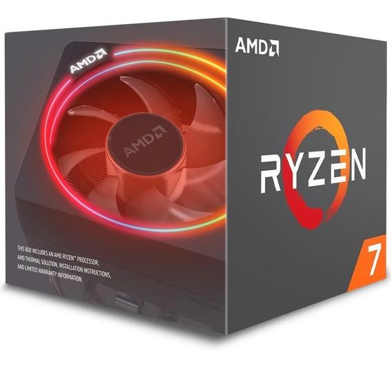 Processador Amd Ryzen 7 2700x, Octa Core, 20mb, 3,7ghz .