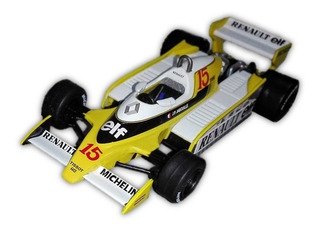 Renault Rs10 1979 Jp Jabouille 1/43 Oficial F1 + Fasciculo