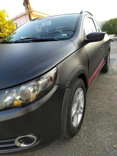 Imagem 1 de 15 de Volkswagen Saveiro 1.6 Trooper Cab. Estendida Total Flex 2p
