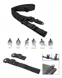 Porta Fusil Tactico 2 Y 3 Puntos Correa Para Rifle No Chinom