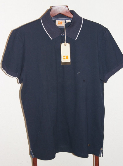 Hugo Boss Orange Playera Polo Talla Xl Color Negro Original