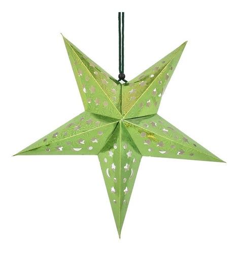 Estrella Colgable Para Decoracion Navideña