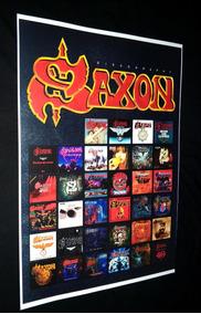 Poster Saxon Sacrifice Banda Saxon Lionheart Saxon Destiny