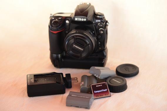 Nikon D700 Mais Acessórios.