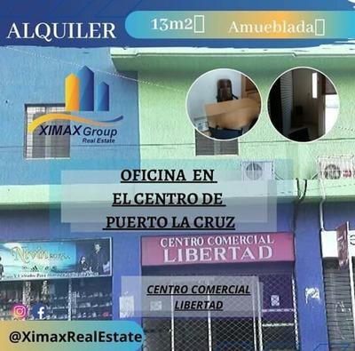 Oficina En Alquiler- Puerto La Cruz Casco Central