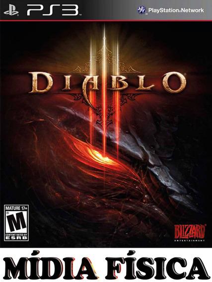 Diablo 3 - Ps3 - Original Em Português!