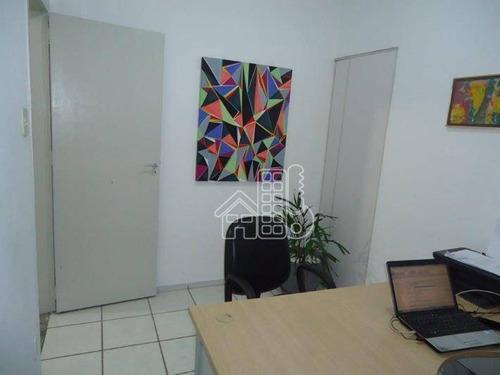 Sala À Venda, 39 M² Por R$ 241.000,00 - Centro - Niterói/rj - Sa0071