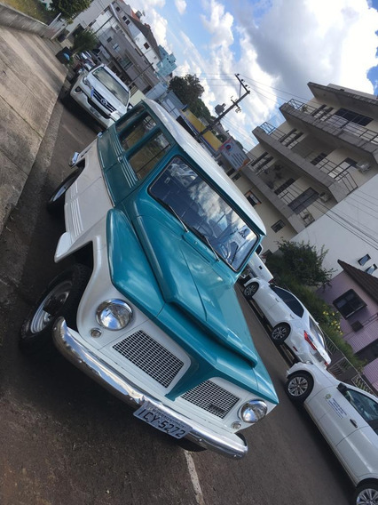 Ford Rural Willys 1972 4x4 4 Marchas Impecável 2 Dono