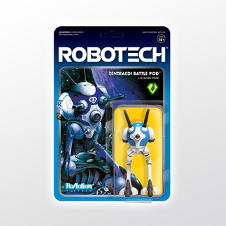 Robotech Reaction Zentraedi Battle Pod Super 7 Tierra Prima