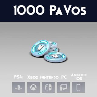 1000 Pavos Para Fortnite Pc Ps4 Xbox Nintendo Entrega 24hr