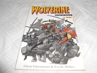 Hq Wolverine Divida De Honra. Frank Miller. Clássico.