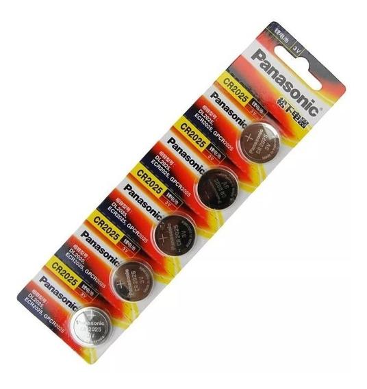 Promoção Kit 7 Cartelas Bateria Panasonic 3v Cr2025
