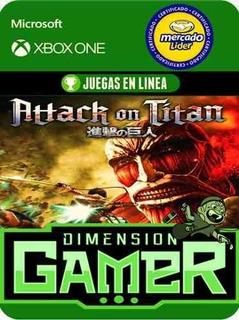Attack On Titan - Xbox One - Modo Local + En Linea