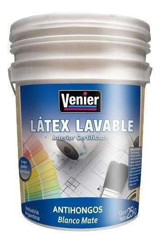 Pintura Latex Int Certificado Plastica 25kg 18 Cuotas S/int