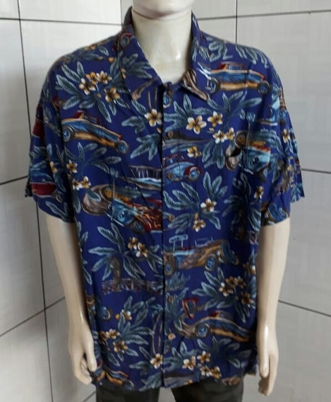 Camisa Havaiana Emportada Tamanho Gg .