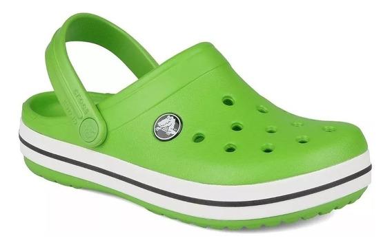 Crocs Originales Crocband Verdes Unisex | Hombre Mujer