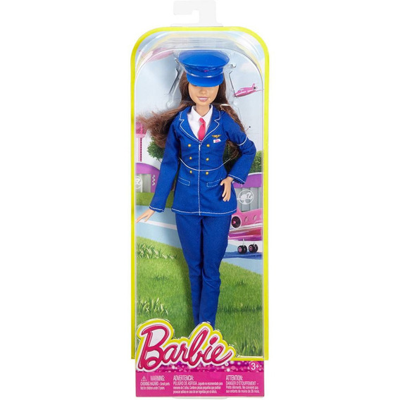 Boneca Barbie - Pilota - Original Lacrada - Mattel Dhb66