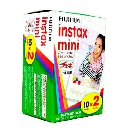 Filme Instantâneo Fuji Instax Mini - 20 Fotos - Fujifilm