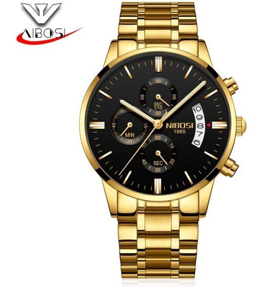 Promoção Relógio Nibosi Original Funcional Barato