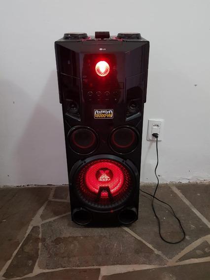 Som Lg Om7560 X Boom Dj Torre Mini System 1000w Rms