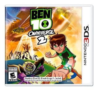 Ben 10 Omniverse 2 3ds Mídia Física Novo Lacrado