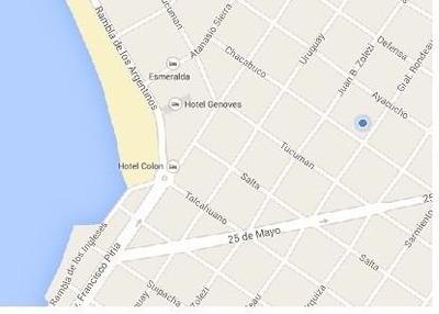 Casa En Zona Tranquila A 5 Cuadras De La Playa Centrica