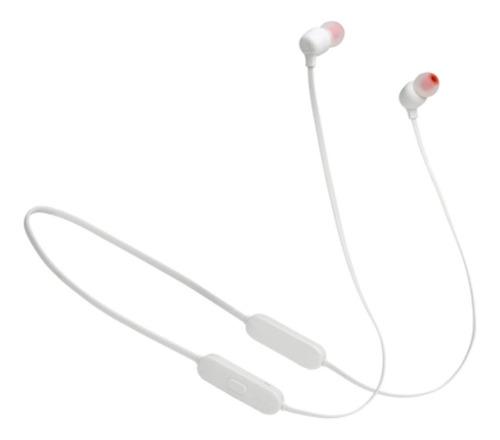 Fone de ouvido in-ear sem fio JBL Tune 125BT white