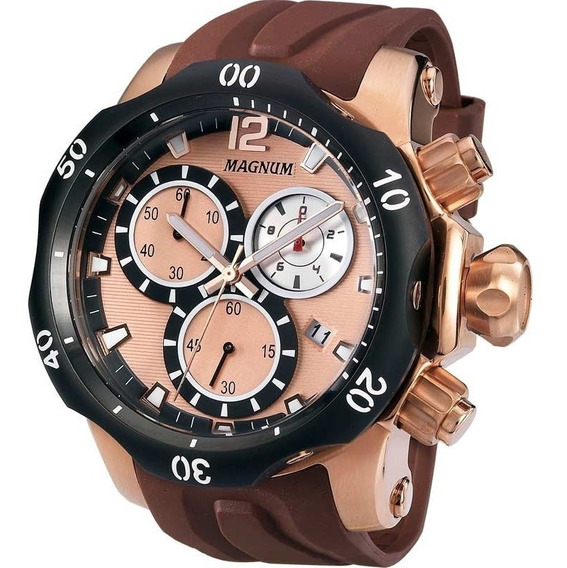 Relógio Magnum Ma33755z C/ Nf-e