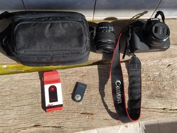 Canon T3i + Lentes + Controle