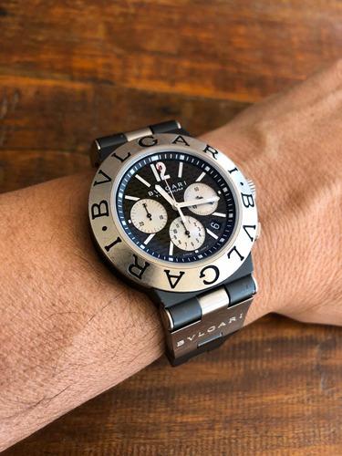 Relógio Bvlgari Diagono Titanium Chronograph 44mm