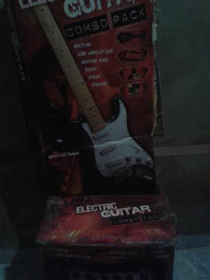 Kit Guitarra Skp, Completa:caixa,afinador Embutido,etc