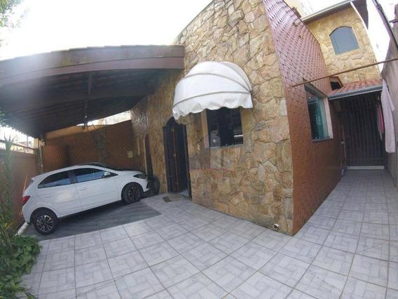 Casa Com 3 Dormitórios À Venda, 183 M² Por R$ 600.000 - Vila Nossa Senhora Das Vitórias - Mauá/sp - Ca0111